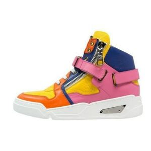 Vesace Tecn Hi Top Sneakers